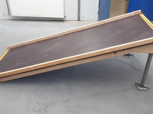Nájezdová rampa pro vozíčkáře