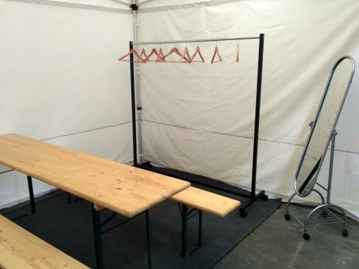 Backstage stan 3x3m