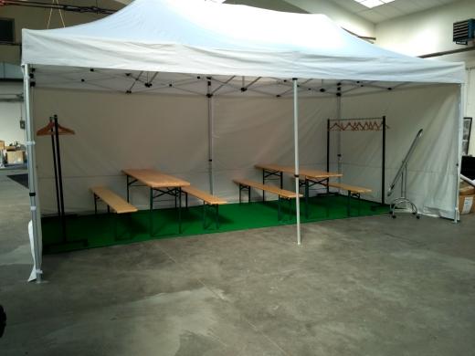 Backstage stan 6x3m