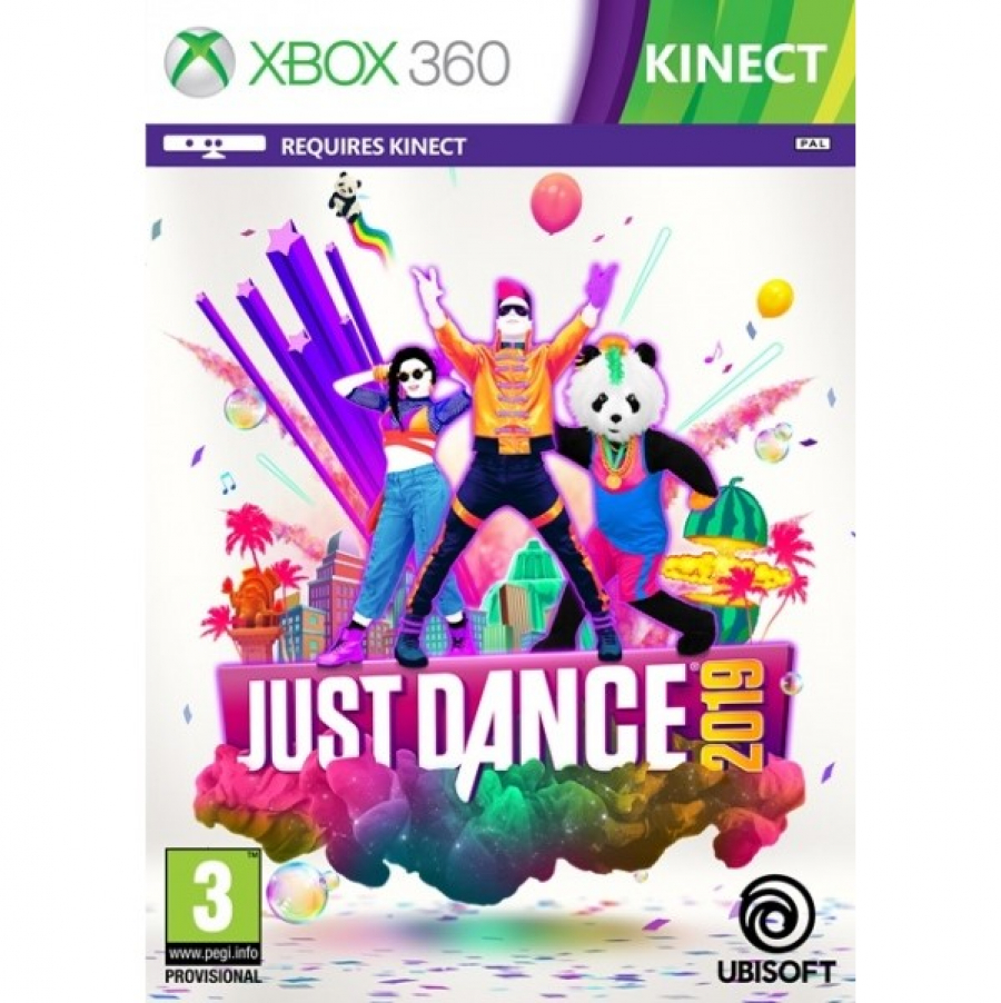 XBox 360 + Kinect + Just Dance 2019